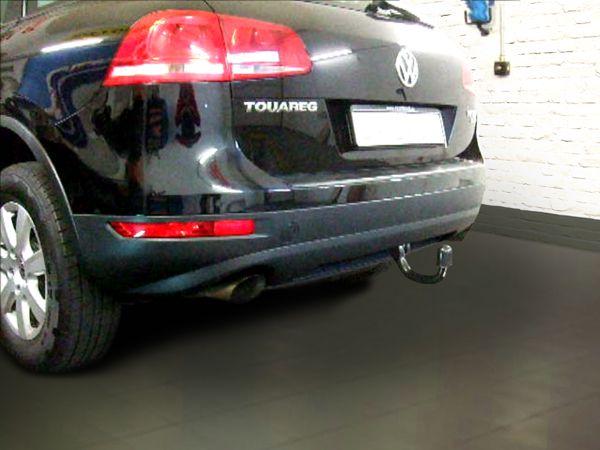 Anhängerkupplung VW-Touareg f. Fzg. m. Reserverad am Boden, Baujahr 2005-2010