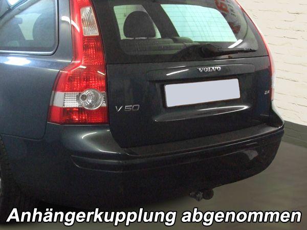 Anhängerkupplung für Volvo-V50 - 2009-2012 Kombi Ausf.:  horizontal