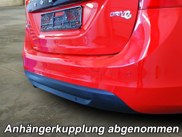 Anhängerkupplung Volvo-V60 Kombi, Hybrid, Baujahr 2013-