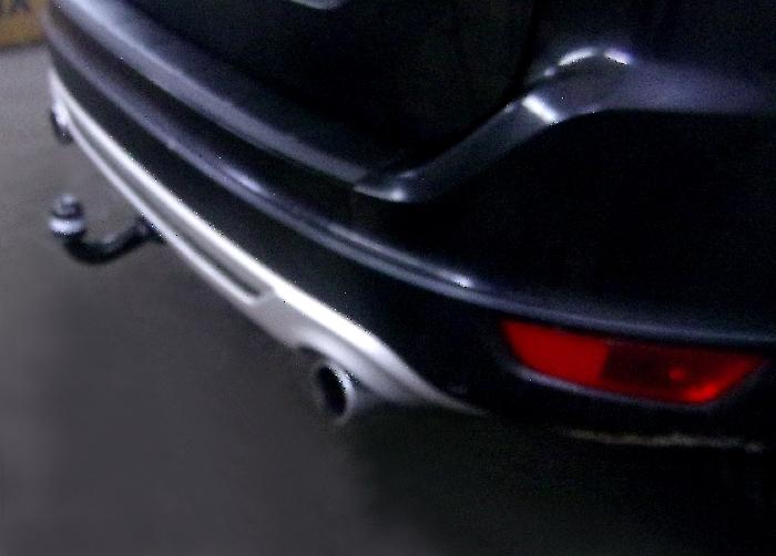 Anhängerkupplung für Volvo-XC 60 - 2012-2017 spez. R-Design, incl. Abdeckung schwarz Ausf.:  vertikal