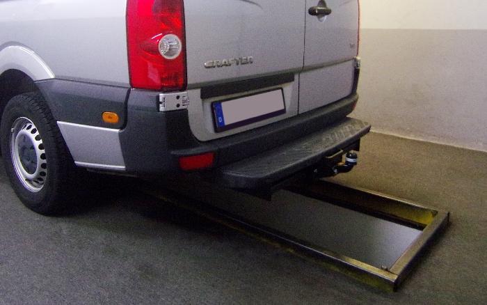 Anhängerkupplung VW-Crafter I 30-35, Kasten, Radstd. 3665mm, Fzg. mit Trittbrettst., Baujahr 2006-2017