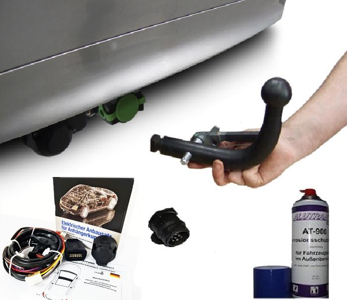 Anhängerkupplung Chevrolet-Rezzo Van, Frontantrieb, Baujahr 2000-