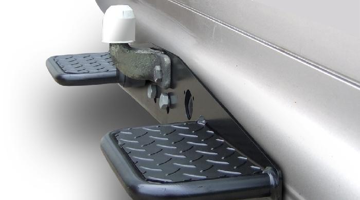 Anhängerkupplung für Mercedes-Sprinter - 2006-2018 409-424, Kasten, Radstd. 3250mm, Fzg. ohne Trittbrettst. Ausf.:  feststehend
