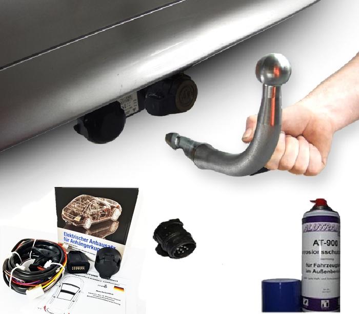 Anhängerkupplung Mercedes-SL R 129, R129, 280SL, 320, 500SL, Montage nur bei uns im Haus, Baujahr 2000-2001