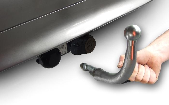 Anhängerkupplung für Audi-A6 Avant - 2018- 4K, C8, nicht Quattro Ausf.:  horizontal