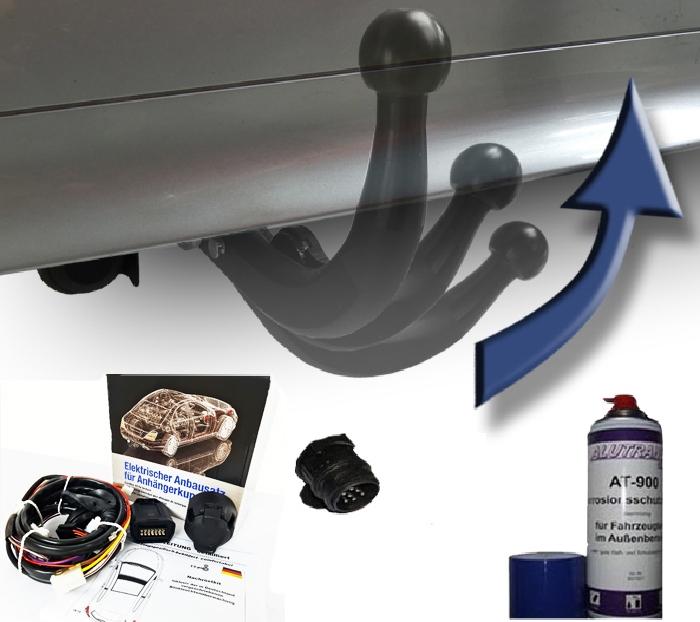 Anhängerkupplung Mercedes-C-Klasse Kombi W204, spez. m. AMG Sport o. Styling Paket, Baujahr 2011-2014