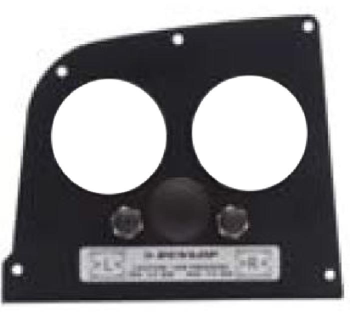( LF3) Manometerblende für Zweikreisanlage, Iveco Daily 2014-