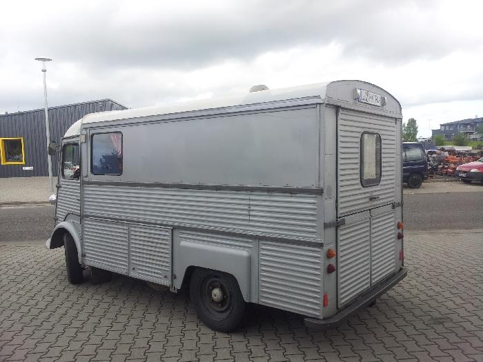 Anhängerkupplung Citroen-HY Kastenwagen, Baureihe 1965- Ausf.:  feststehend