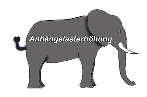Anhängelast erhöhen VW Crafter, Pritsche, 3,0t, 2006-2017 (feststehende AHK incl. Gutachten)