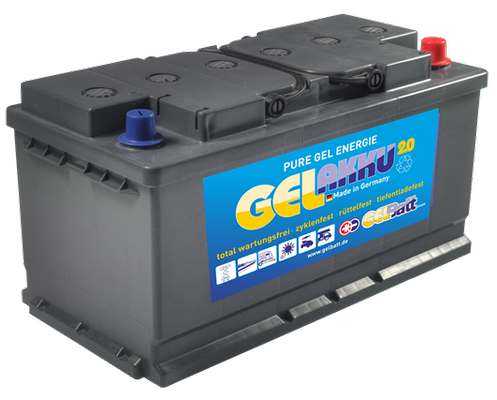 GEL Akku 12 V 80Ah DIN Pole