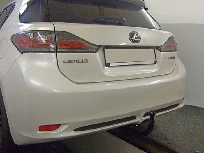 Anhängerkupplung Lexus CT 200h, nur für Heckträgerbetrieb, Montage nur bei uns im Haus, Baureihe 2010-  vertikal