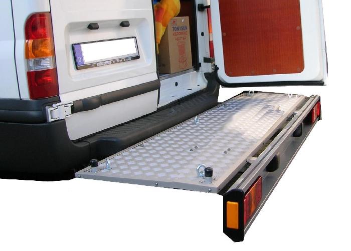 ALUTRANS Premium Plattformträger spez. für Citroen Jumper X250/X290 Bj. 2011-, mit AHK